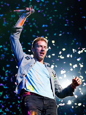 5. Coldplay
