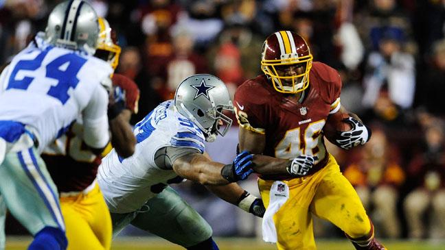 Cowboys Redskins Sunday Night Football NBC - H 2012
