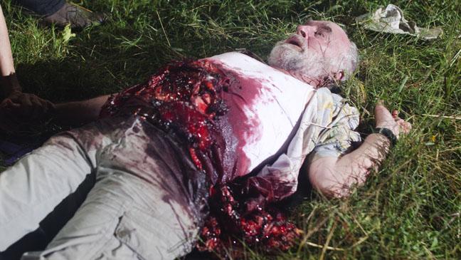 The Walking Dead Dale's Death - H 2012