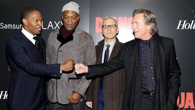 Django Unchained NY Screening Cast - H 2012
