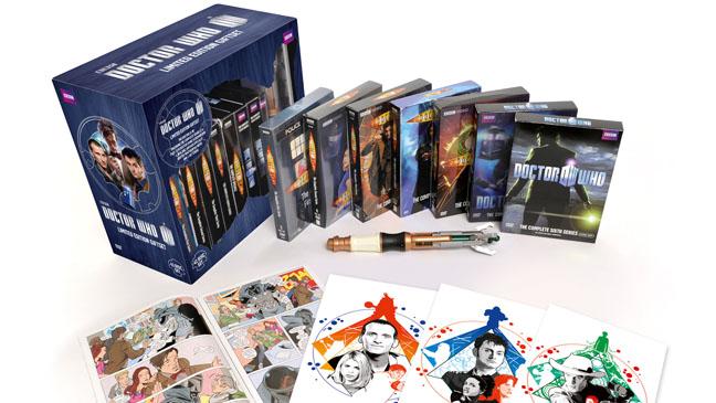Doctor Who DVD Box Set - H 2012