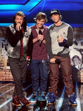 The X Factor Emblem 3 Top 4 - P 2012