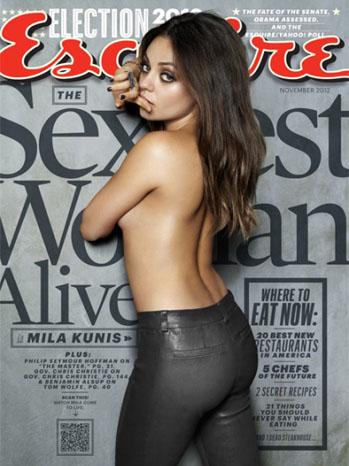 Esquire November 2012 Magazine Cover - P 2012