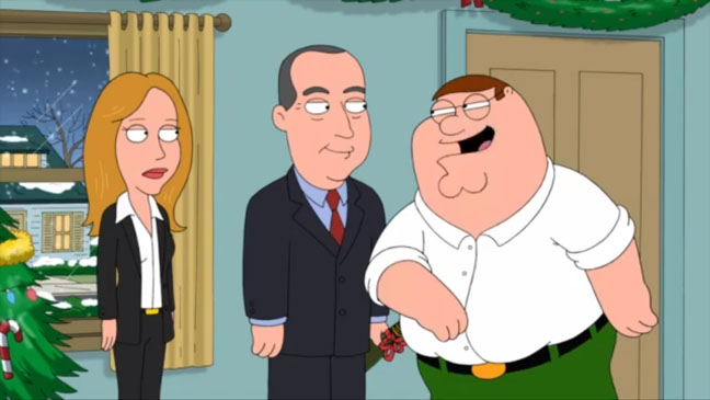 Family Guy Christmas Card - H 2012