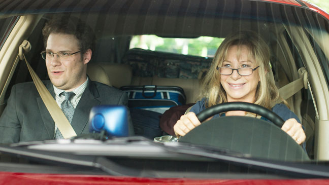 The Guilt Trip Streisand Rogen in Car - H 2012