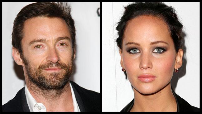Hugh Jackman Jennifer Lawrence Report - H 2012