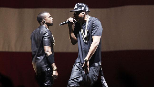 9. Jay- Z, Kanye West