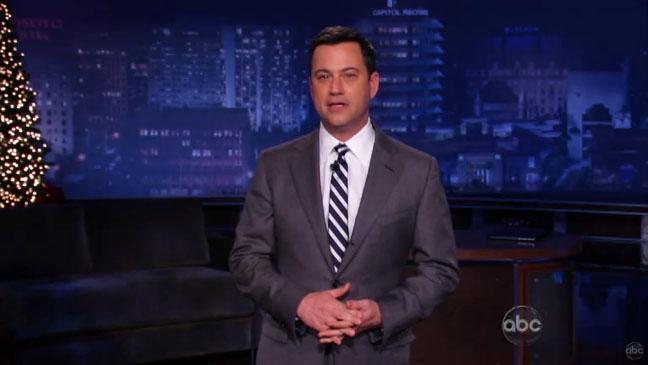 Jimmy Kimmel live Tearing Up Addressing Sandy Hook - H 2012