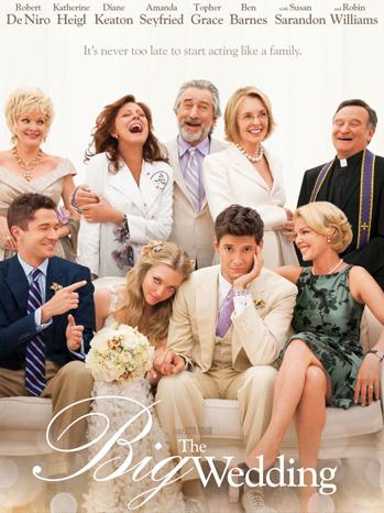The Big Wedding one sheet - P 2012