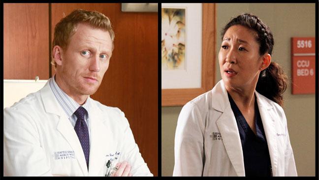 Kevin McKidd Sandra Oh Grey's Anatomy Episodic Split - H 2012