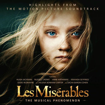 Les Miserables Soundtrack Album Art - S 2012