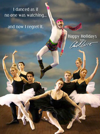 Chuck Lorre Holiday Card - P 2012