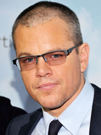 Matt Damon Promised Land Premiere Headshot - P 2012