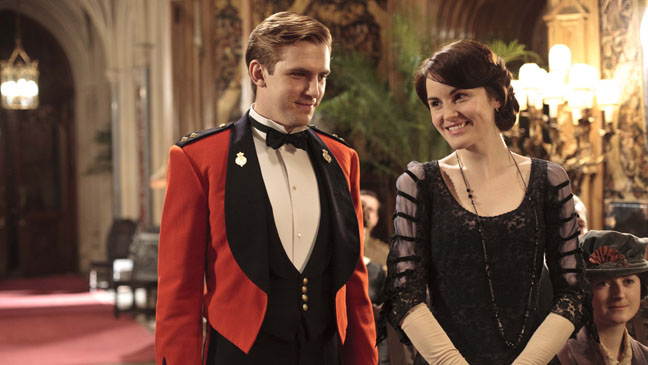 Dan Stevens Matthew Crawley Downton Abbey S2 - H 2012