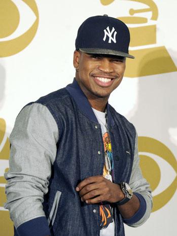 Ne-Yo Grammy Press Room - P 2012