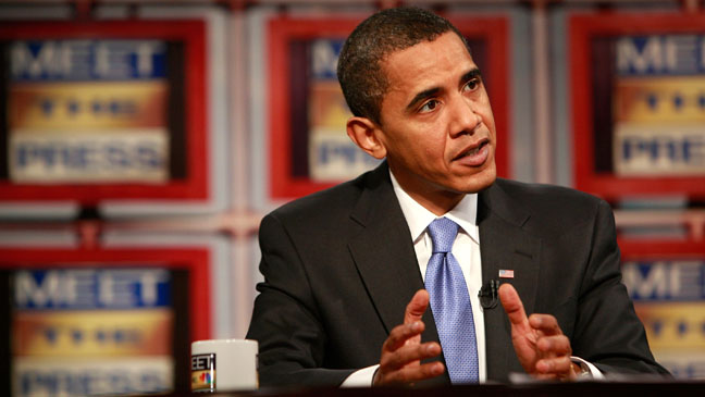 Barack Obama Meet The Press 2008 - H 2012