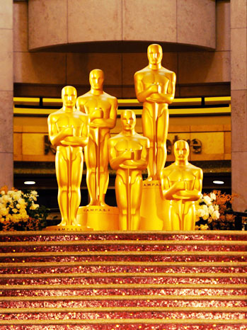 Oscar Statues Generic Art - P 2012