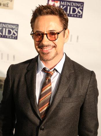 Robert Downey Jr Poker Event - P 2012