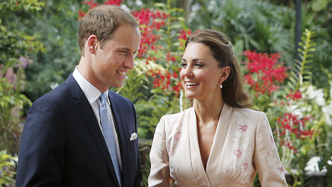 BIRTHS: Kate Middleton & Prince William