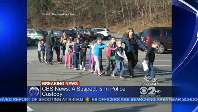 Sandy Hook Elementary School Shooting Screengrab - H 2012