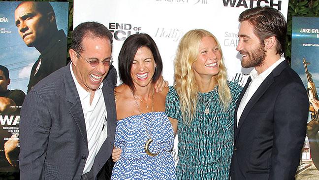 2012-30 RED Jerry Seinfeld Jessica Seinfeld Gwyneth Paltrow Jake Gyllenhaal H