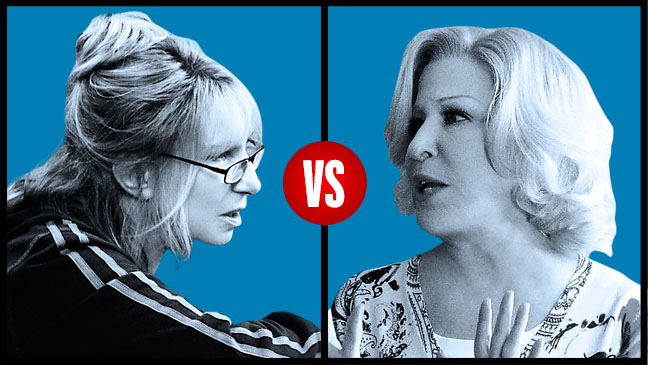 Barbara Streisand vs. Bette Midler - H 2012