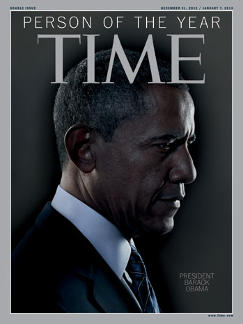 Time Magazine Barack Obama Cover Person of the Year - P 2012