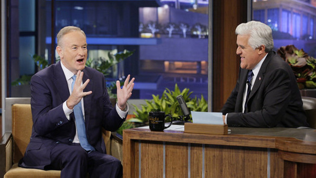 Bill O'Reilly Jay Leno Tonight Show - H 2012