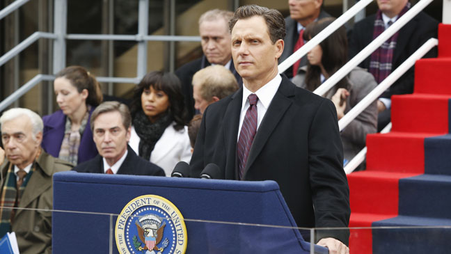 Scandal ABC Tony Goldwyn Happy Birthday Mr. President - H 2012