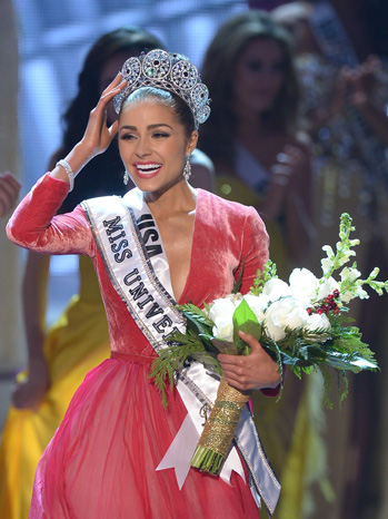 Miss USA Olivia Culpo Crowned Miss Universe - P 2012