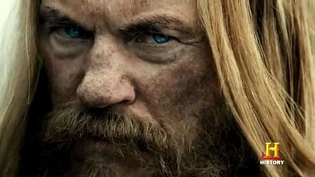 Vikings History Channel Screen Grab - H 2012