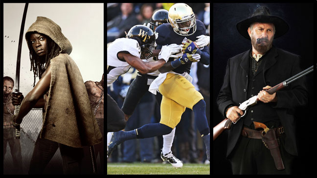 Walking Dead College football Hatfields and McCoys - H 2012