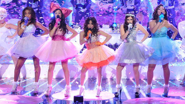 X Factor finale Fifth Harmony night 1 L