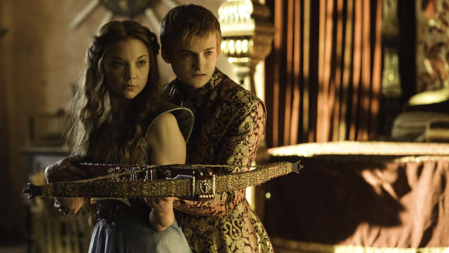 Joffrey Baratheon and Margaery Tyrell