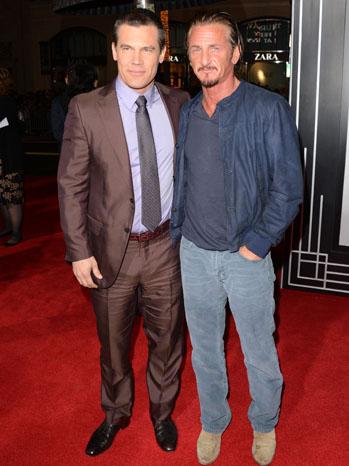 Josh Brolin and Sean Penn