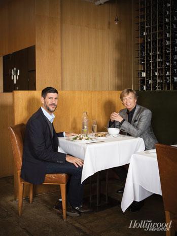Rich Ross and Nigel Lythgoe