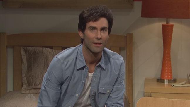 Adam Levine SNL - H 2013
