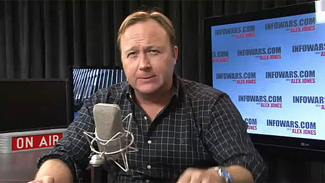 Alex Jones Radio Host - H 2012