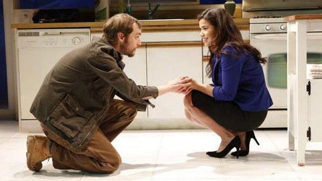 Tobias Segal and America Ferrera - Bethany - Off Broadway