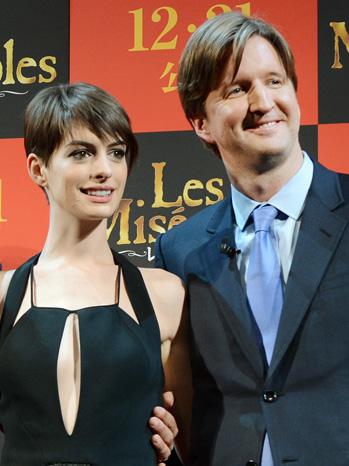 Anne Hathaway Tom Hooper Les Miserables Japan - P 2013