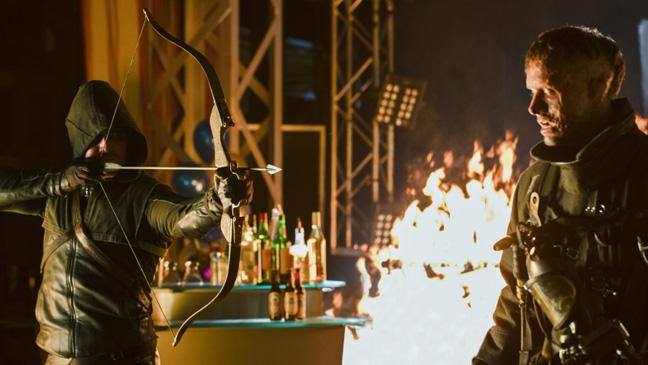 Arrow Burned Episodic Stephen Amell Andrew Dunbar - H 2013