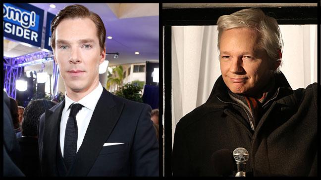 Benedict Cumberbatch Julian Assange - H 2013