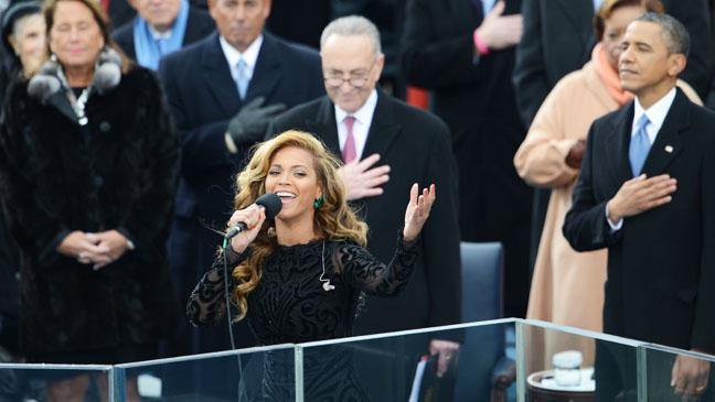 Beyonce Performing at Inauguration - H 2013