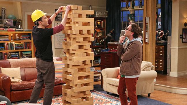 The Big Bang Theory The Egg Salad Equivalency Jenga - H 2012