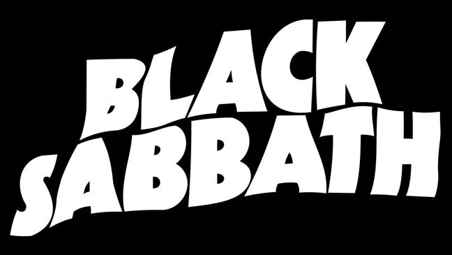 Black Sabbath logo black L