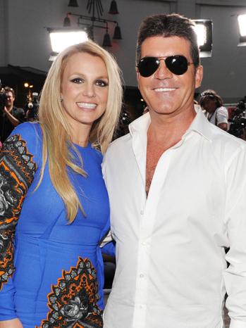 Britney Spears Simon Cowell P
