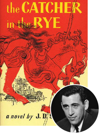Catcher in the Rye Cover JD Salinger Inset - P 2013
