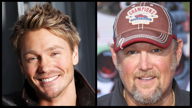 Chad Michael Murray Larry The Cable Guy Split - H 2013