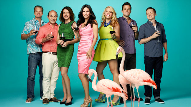 Cougar Town New Season TBS PR Image - H 2013