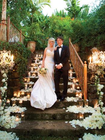 Courtney Simmons Nathan Sawaya Wedding - P 2013